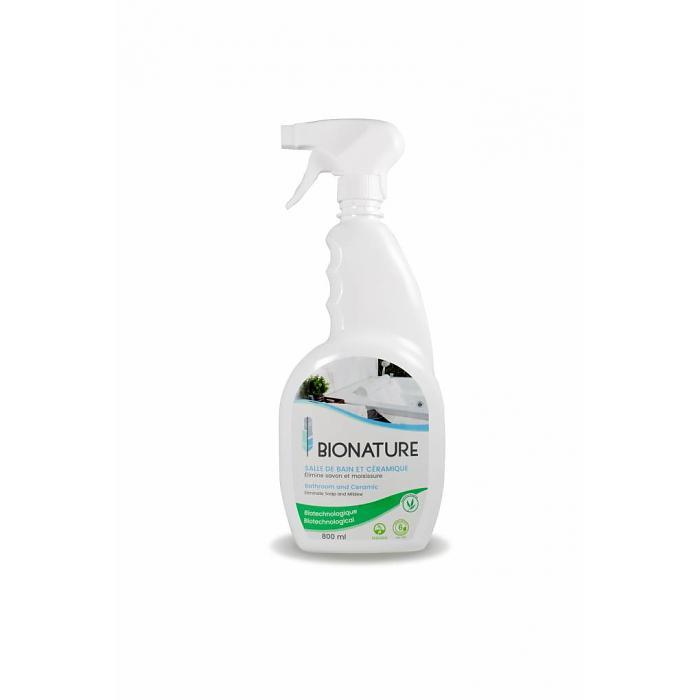 Nettoyant salle de bain et c ramique 800ml livraison gratuite les b ches cologiques eco logic - Moisissure noire douche ...
